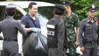 Verdächtiger nach Anschlägen in Bangkok verhaftet