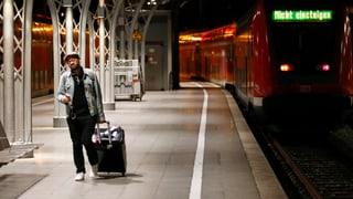 Züge in Deutschland fahren wieder