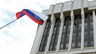 Russland bereitet sich auf die Krim vor