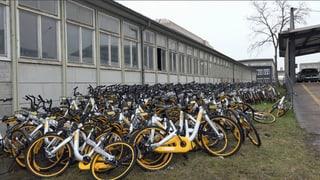 Sind O-Bikes als Wegwerfvelos konzipiert?