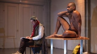 Was ist eigentlich ein Flüchtling - Premiere im Experi Theater