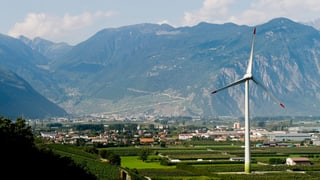 Windkraftwerke stören nur wenige