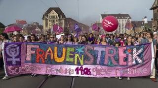 Lila Mobilmachung für die Gleichberechtigung (Artikel enthält Video)