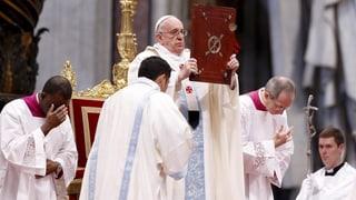 Franziskus' erste Neujahrspredigt: Wunsch nach Frieden