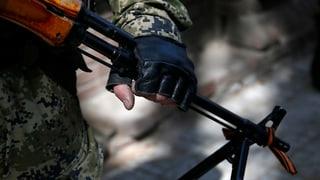 Ukrainisches Militärflugzeug über Slawjansk beschossen