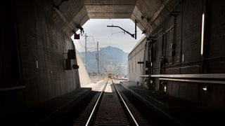 Ein wenig Licht am Ende des Gotthard-Basistunnels