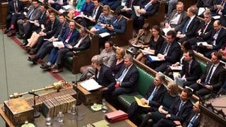 Das Protokoll zum Entscheid im britischen Unterhaus