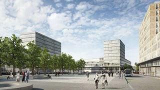 Luzern Nord - am Seetalplatz wird weiter gebaut