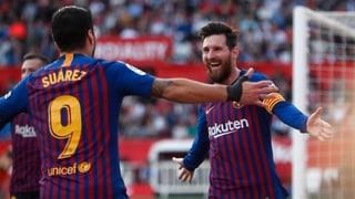 Messi dreht Spiel gegen Sevilla im Alleingang (Artikel enthält Audio)