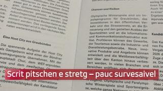 Il Grischun vul er ir sur il «cudeschet»