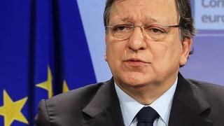 Barroso: «Das hat ernsthafte Konsequenzen für die Schweiz»