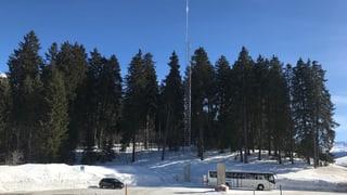 Resistenza cunter antenna da 5G a Valbella