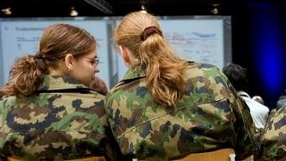 Frauen fürs Militär begeistern – an einem obligatorischen Infotag