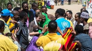Sommaruga besucht Flüchtlingslager im Osten Äthiopiens