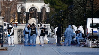 Attentäter tötet Touristen in Istanbul
