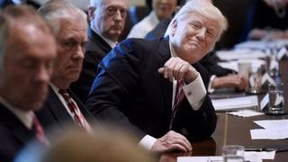 Trump lässt sich huldigen