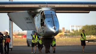 Solar Impulse 2 überwintert auf Hawaii