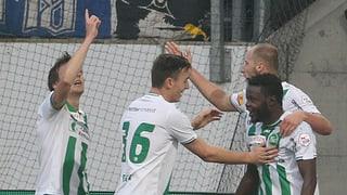 So gewann der FC St. Gallen gegen Luzern