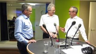 Live-Talk mit den drei Kandidaten