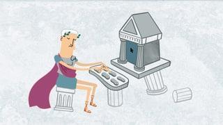 Video «Wer hat's erfunden? - Soziale Netzwerke im antiken Rom (7/10)» abspielen