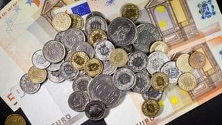 Euro-Franken-Kurs klettert über 1.10