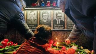 Gedenkfeiern an Atomkatastrophe von Tschernobyl