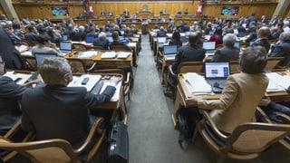 Im Nationalrat kehrt die Disziplin ein