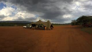 «Obligatorisches» im kenianischen Busch