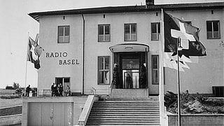 Das war das Radio Studio Basel auf dem Bruderholz
