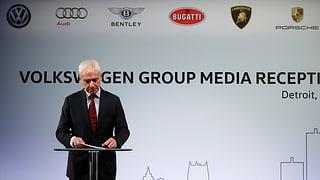 VW-Chef sucht Einigung mit US-Umweltbehörde
