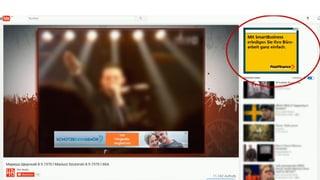 Erste Schweizer Firmen stoppen Werbung auf Google und Youtube