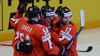 Die Schweiz steht im WM-Halbfinal