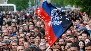 Ostukraine: Separatisten verkünden Sieg