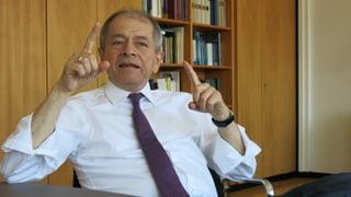 Antonio Loprieno: «Ich glaube nicht, dass Baselland kündigt»