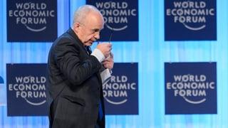 Maurer wegen mangelhaftem WEF-Budget unter Druck