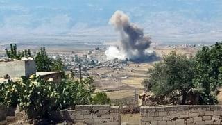 Syriens Regierung lanciert Angriffe auf Idlib