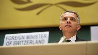 Schweizer Balanceakt in der Syrienkrise
