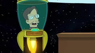 Stephen Hawking war ein Serien-Star