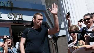 Kreml-Kritiker Nawalny ist wieder frei