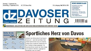 «Davoser Zeitung» en la critica
