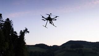 Quasi collisiun tranter drona e la Swiss