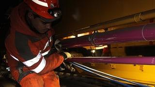 Heitersberg-Baustelle: «Die Arbeit im Tunnel ist sehr stressig»