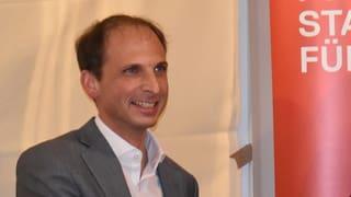 Die SP Schwyz will mit Michael Fuchs erstmals in den Ständerat
