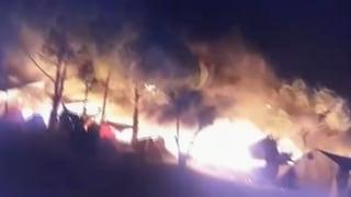 Nach einem Brand im Flüchtlingslager Moria auf der griechischen Insel Lesbos vor einem Jahr waren die Bewohner auf einen Schlag obdachlos.