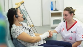 Gold für Fachfrau Gesundheit