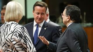 Cameron betreibt mit Juncker-Opposition Wahlkampf