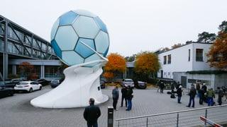 Razzia beim Deutschen Fussballbund
