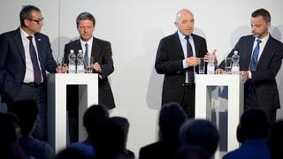 Zürcher Ständeratswahl: Kampf um die Mitte