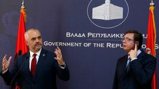 Albanien und Serbien – die Fronten bleiben verhärtet