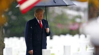Trump besucht US-Soldatenfriedhof bei Paris